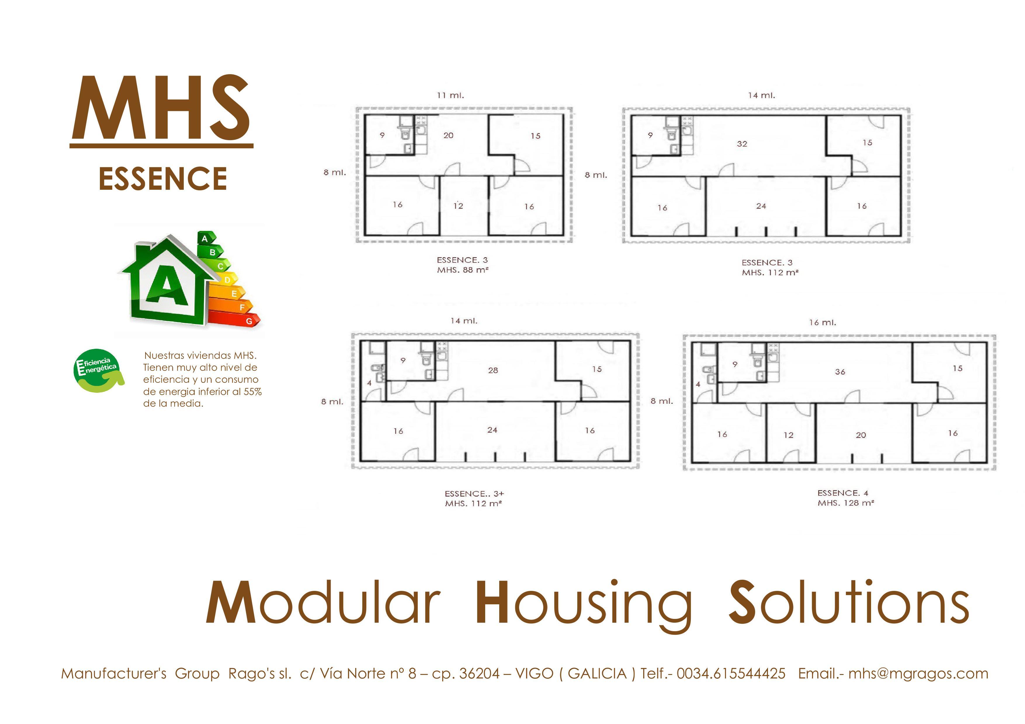Modelo MHS ESSENCE-8
