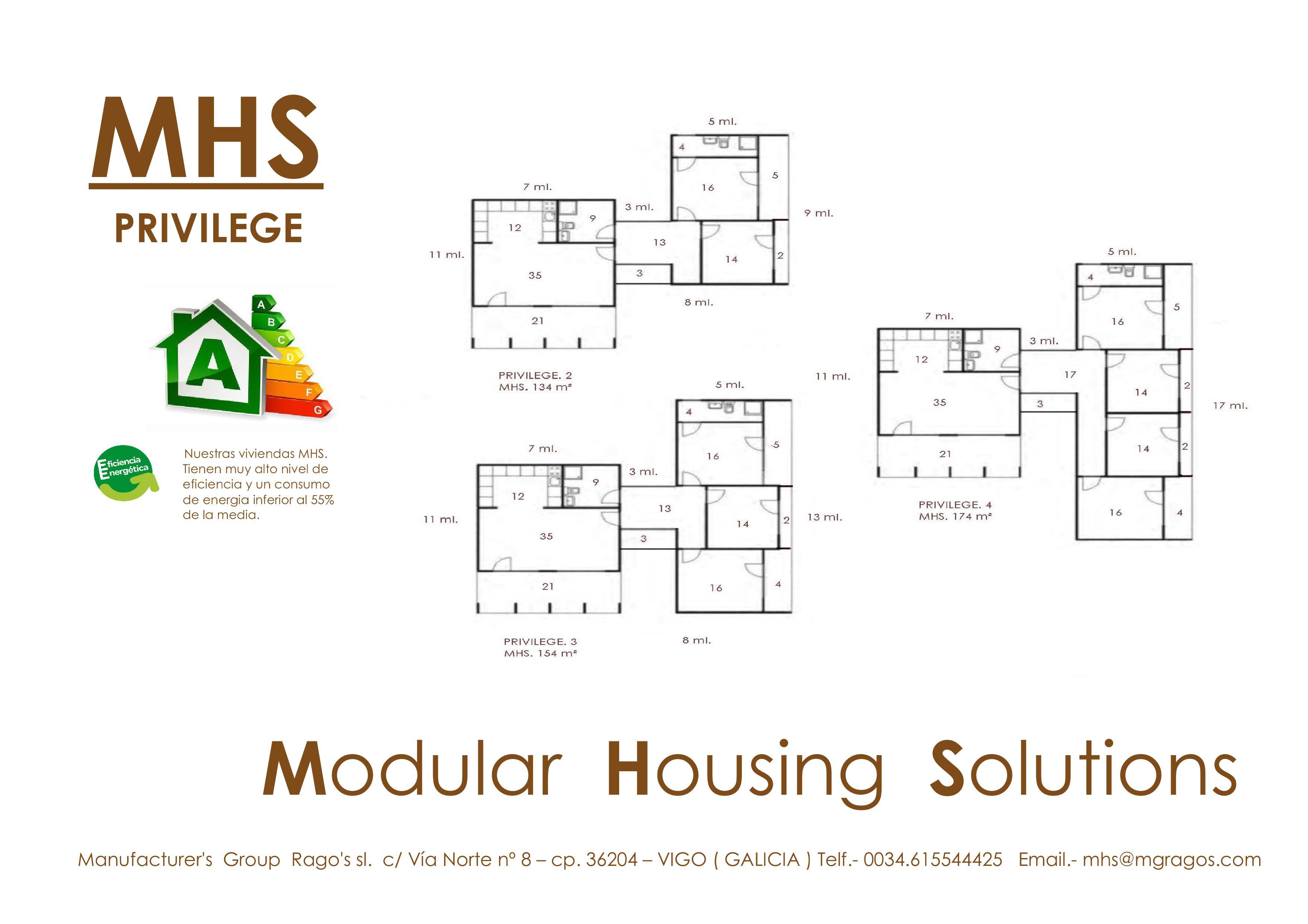 Modelo MHS PRIVILEGE-10