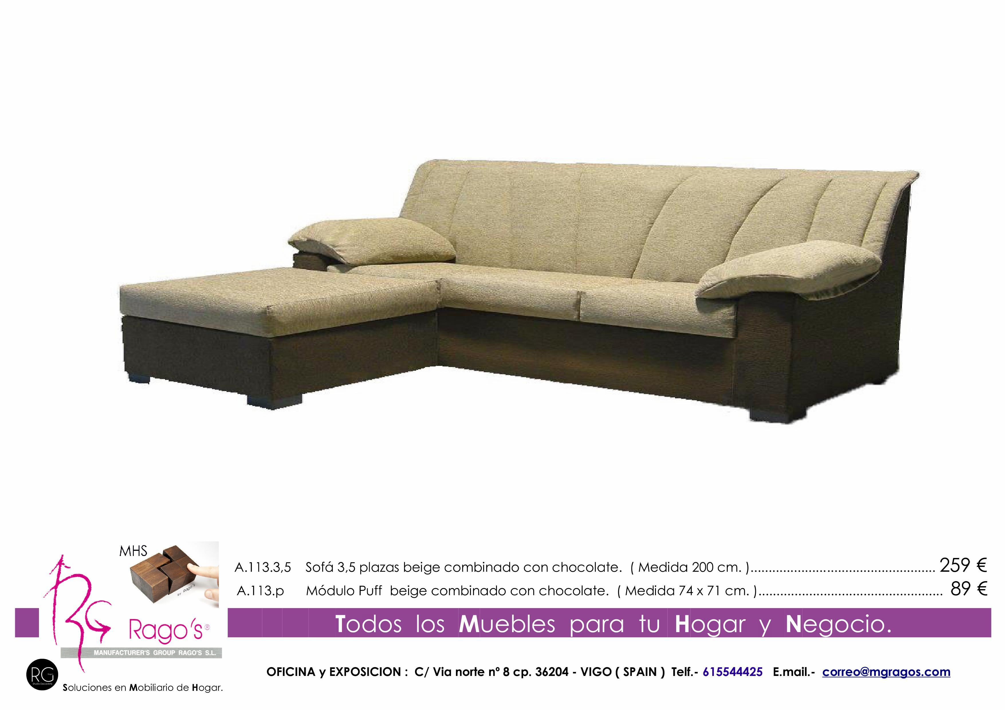 A.113.3,5-A.113.P  Sofa-Puff Pag. nº 20