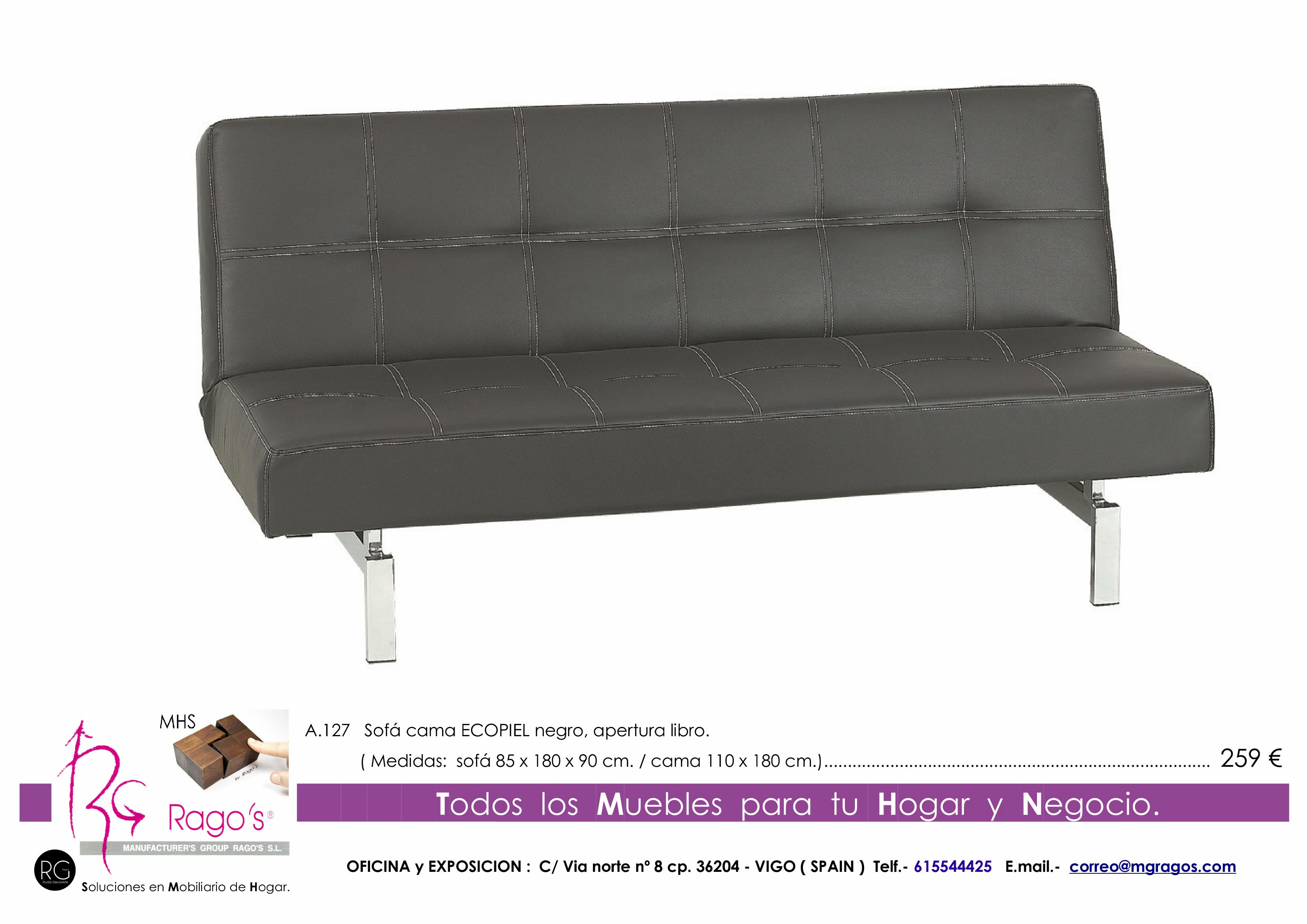A.127 Sofa Cama Pag. nº 19