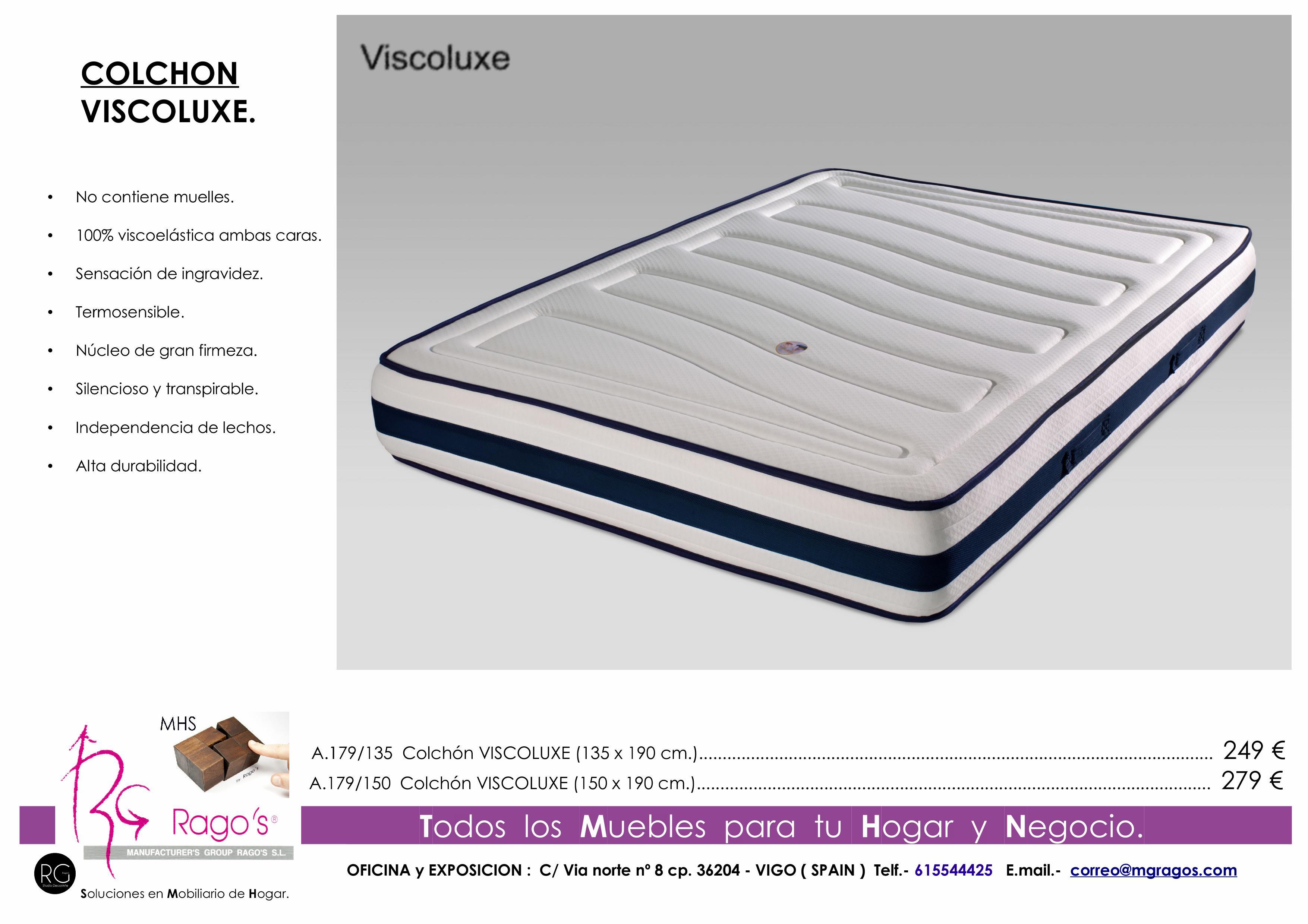 A.179 Colchón VISCO LUXE Pag. nº 9
