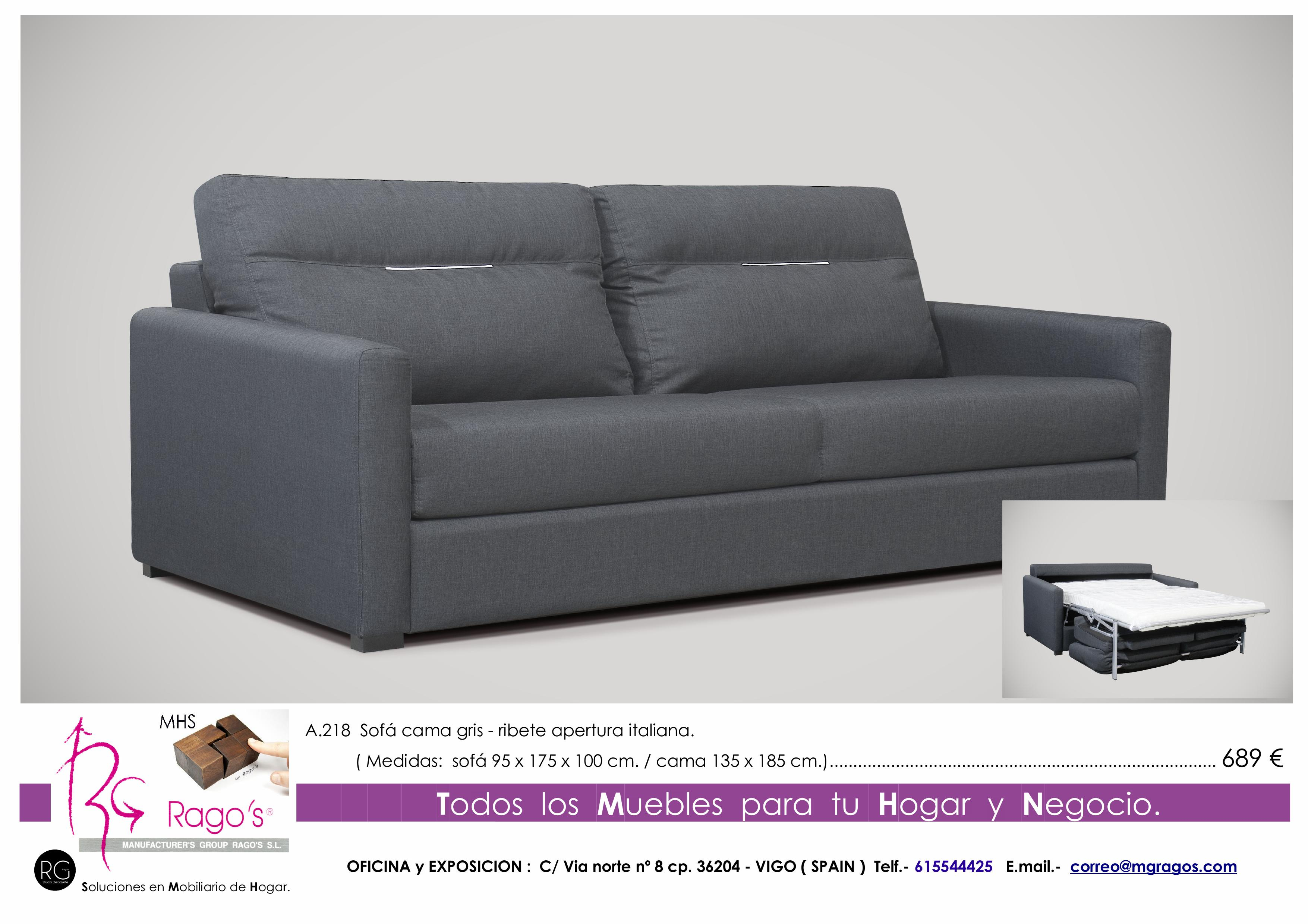 A.218 Sofa Cama Pag. nº 19