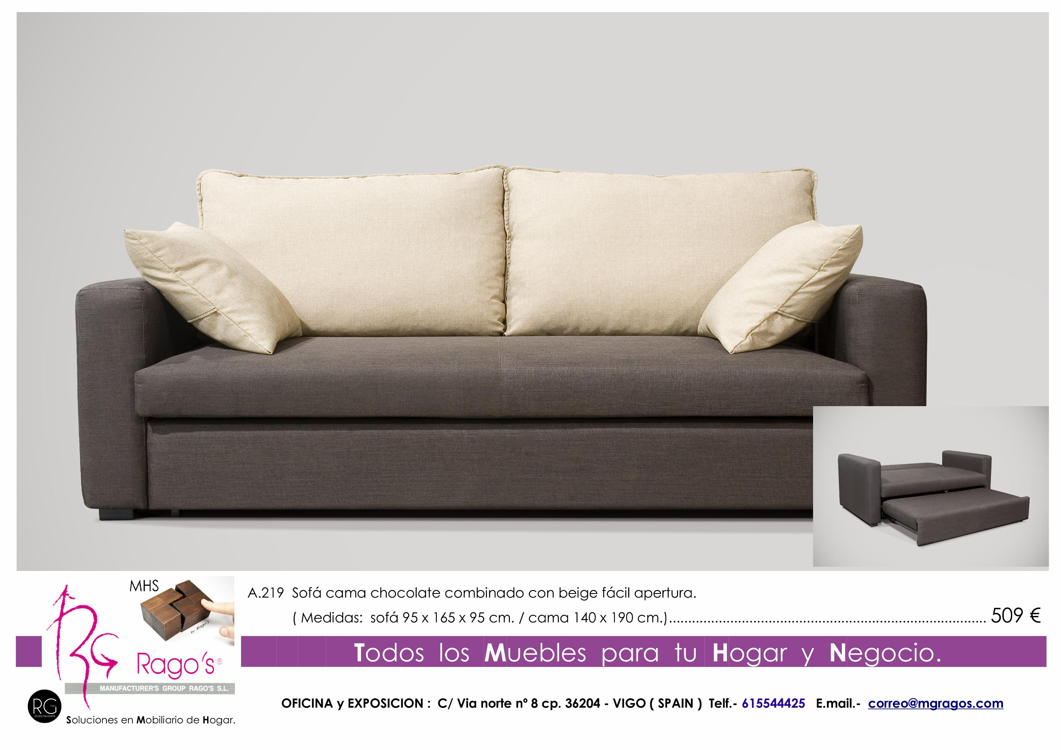 A.219 Sofa Cama Pag. nº 19